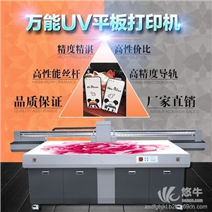 供应中科创客1010高精度智能双4色打印机UV万能平板打印机