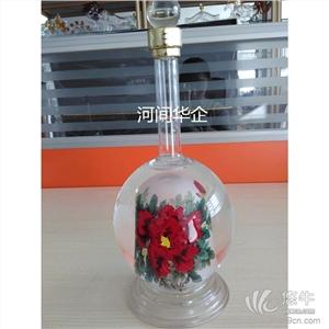 供应地方土特产内画玫瑰花酒瓶婚庆喜宴酒瓶内画玫瑰花酒瓶