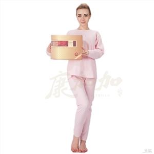 供应康加加健康服饰养生专家高档内衣加盟代理石墨烯女式内衣套装
