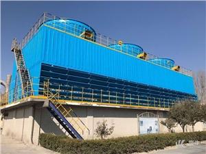 方形金属盒 产品汇 供应锦山牌DNT-600方形逆流式冷却塔方形逆流式冷却塔