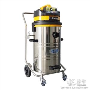 供应依晨YZ-8020B不锈钢桶身工业强力型电子厂用吸尘器