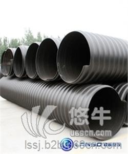 供应重庆联硕塑胶钢带管钢带管