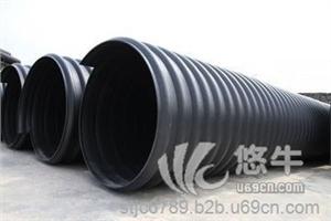 供应HDPE钢带增强螺旋波纹管厂家HDPE钢带增强管