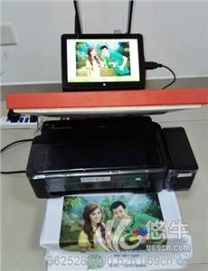 供应街头摆摊衣服上印手机照片的机器印花机器-EL发光衣服 EL发光衣