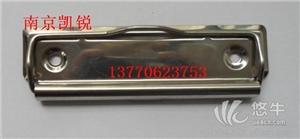 供应304材质不锈钢板夹,周转箱标签夹南京不锈钢看板夹