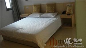 供应郑州北环家具厂家板式酒店家具批发定制床床头柜衣柜