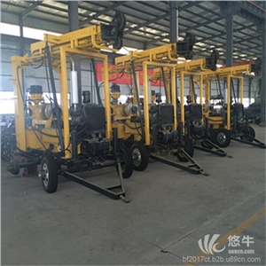 供应汇之鑫XYX-200移动式水井钻机移动式水井钻机