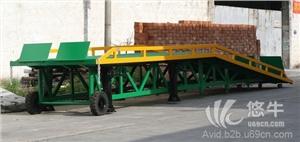 供应汉莫克重载型移动式登车桥4吨叉车装卸平台汉莫克移动式登车桥