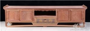 供应雍王府红木厂家直销缅甸花梨雍王盛世电视柜