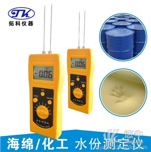 供应青岛拓科高频纺织水分测定仪
