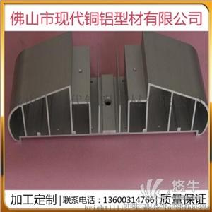 供应现代坚华6063606160826463铝合金工业型材