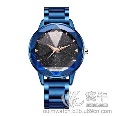 欧镭蓝晶石女士手表