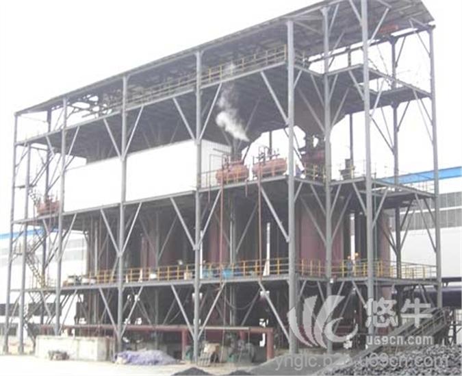 两段式煤气汽化炉
