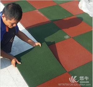 供应星之健厂家橡胶地垫 2.5CM厚安全地垫橡胶地板