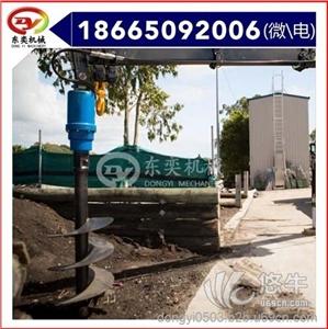 供应挖掘机属具液压钻机 东奕机械挖掘机械螺旋钻机
