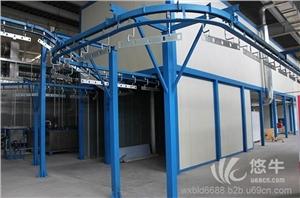 供应铝合金橱柜喷漆设备,无锡自动涂装设备厂家涂装设备生产线