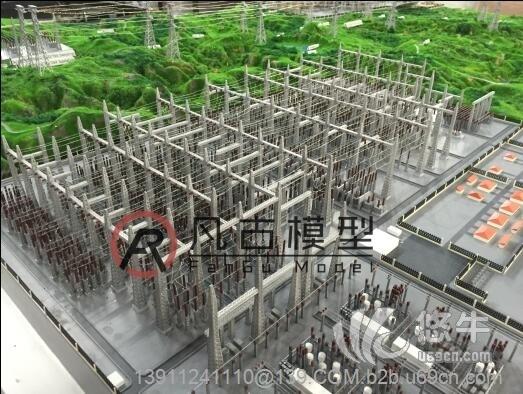 金属电力厂区模型