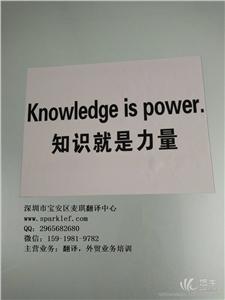 供应RICH深圳翻译公司口笔译