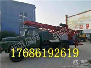 供应恒旺提升力大动力强劲拖车式正反循环钻机