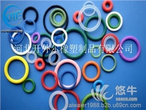 供应硅胶O型圈 耐阻燃高温硅胶密封圈-开外尔硅胶垫