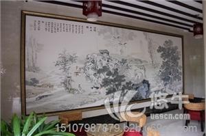 供应景浮宫大型陶瓷背景墙陶瓷背景墙