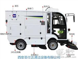 供应明诺四轮扫路车MN-S1800四轮扫路车