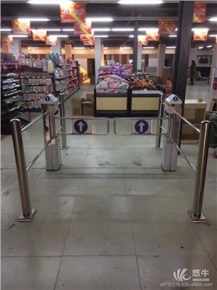 超市入口进出口器