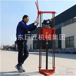供应20米手持式电动取土钻机高频振动取土快手持式电动取土钻机