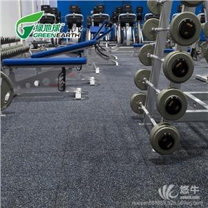 供��健身房橡�z地�|防滑力量�^地�z�p震耐磨健身房橡�z地�|