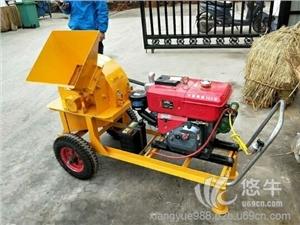供应新款双进料斗粉碎机 木材破碎机 玉米杆粉碎机