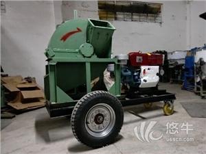 供应新款双进料斗粉碎机  废木杂木粉碎机木头料粉碎机