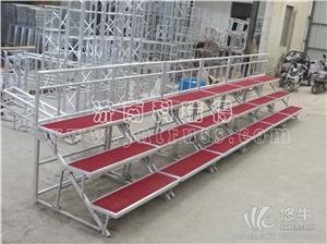 供应厂家直销铝合金三层折叠合唱台合影台阶批发铝合金三层折叠合唱台