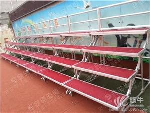 供应厂家直销铝合金四层折叠合唱台学校合影台铝合金四层折叠合唱台