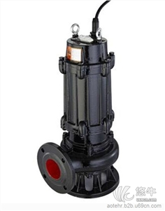 供应奥特泵业QW型无堵塞自吸切割式潜污泵