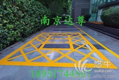 南京社区消防通道划线