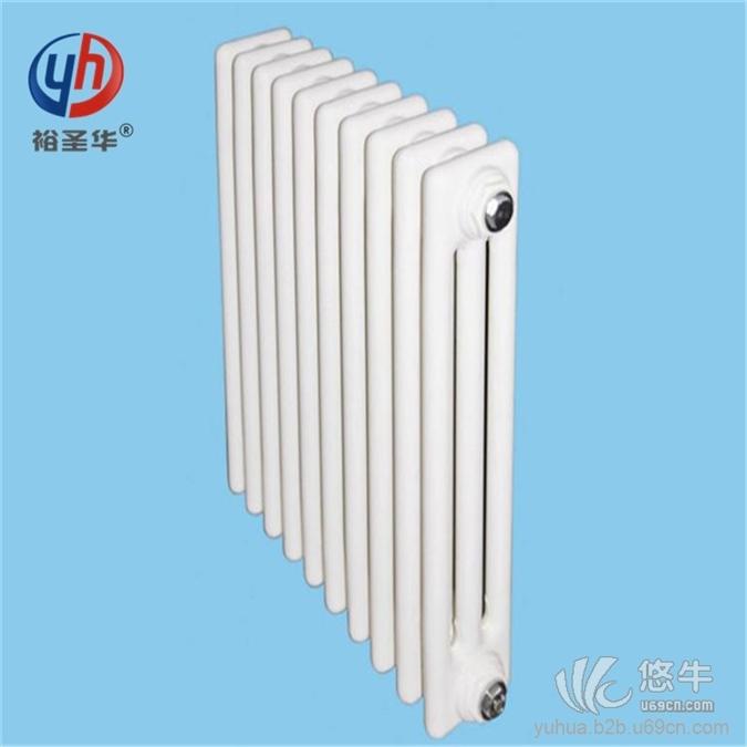 双水道铜铝复合散热器