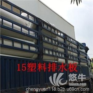 供应宁波15塑料排水板/车库滤水板//施工宁波排水板