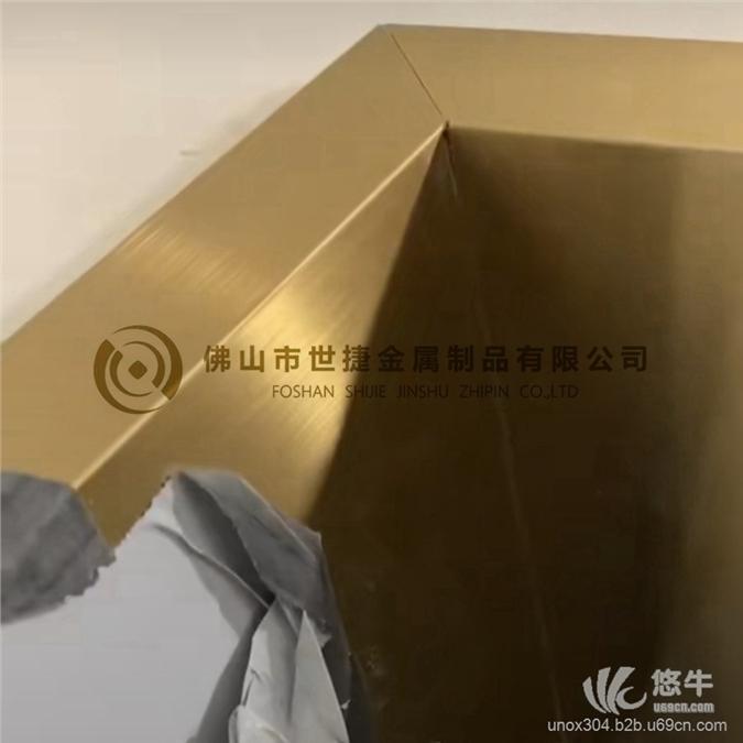 古铜电梯不锈钢门套