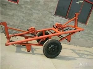 供应恒龙运杆车 下置式运杆车 电杆运输车下置式运杆车