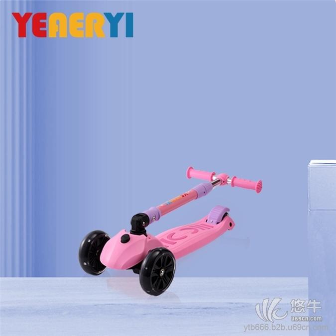 儿童滑板车发光