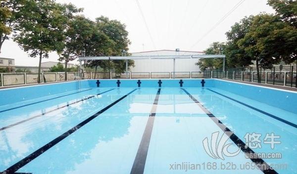 学校专用钢结构游泳池